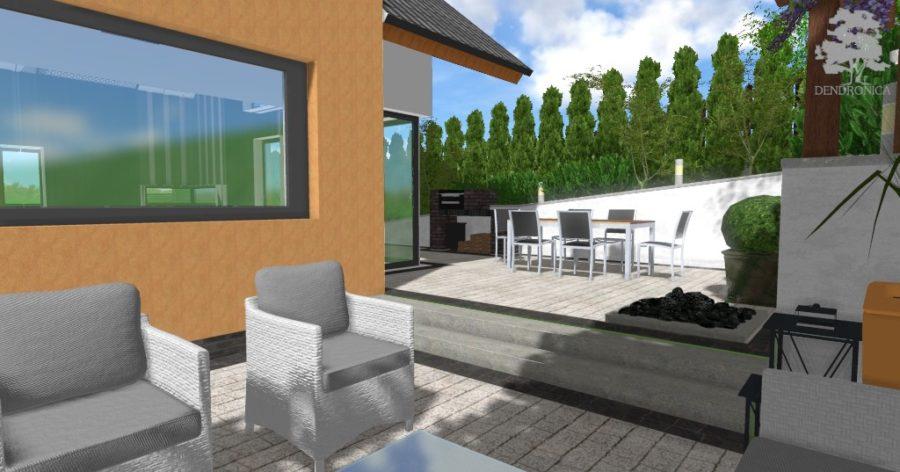 projekt małego ogrodu w krakowie