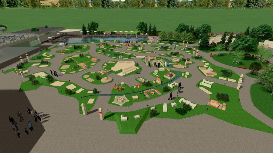 mikropolska - projekt parku