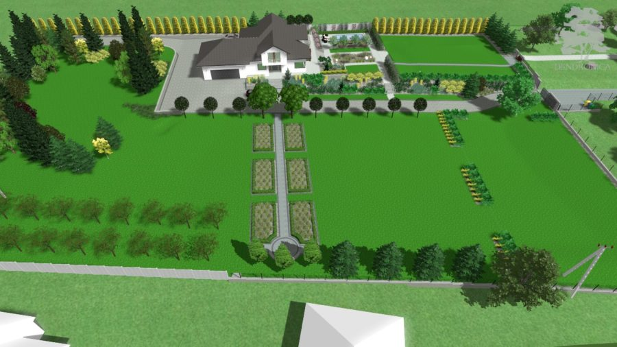 realtime landscaping architect sketchup garden