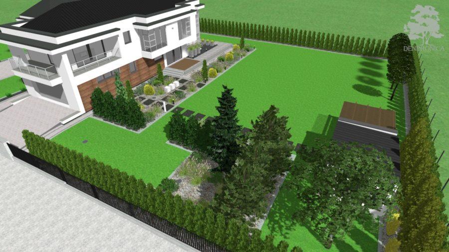 dendronica - ogród nowoczesny