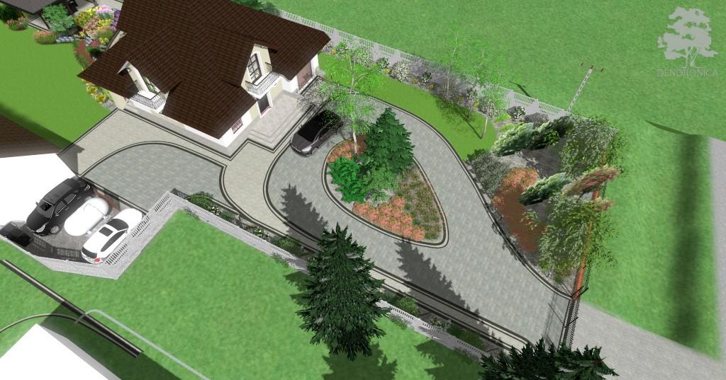 Projekt Kostki Brukowej Dendronica Projektowanie Ogrodów