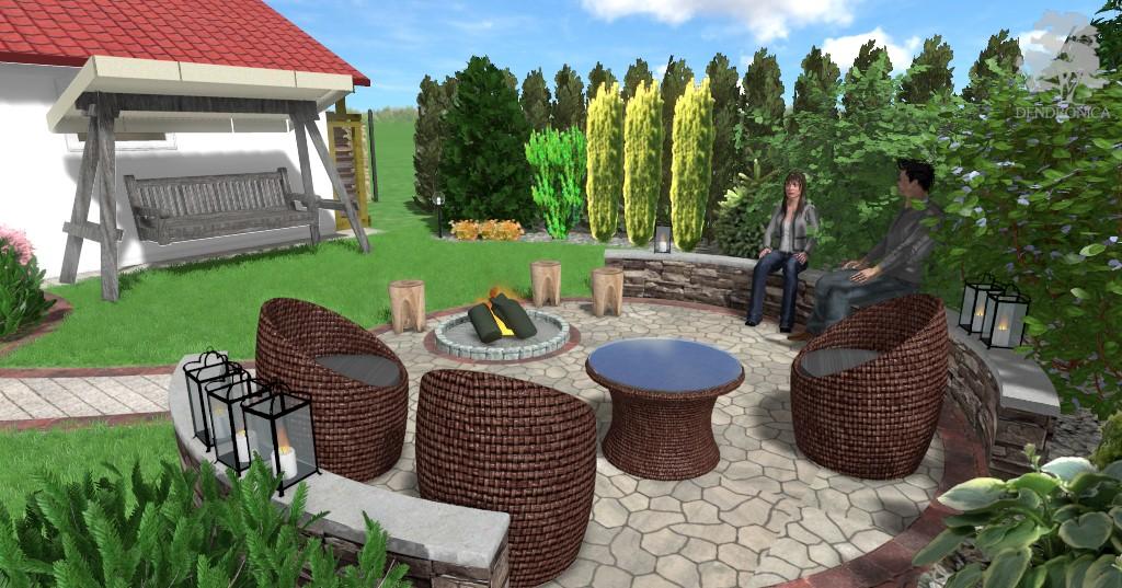 palenisko - projekt ogrodu