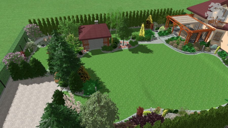 ogród, projekt, kraków,
